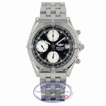 Breitling Chronomat Automatic 40mm Black Dial Silver Sub-Dials Date Bracelet Folding Clasp A1335211/B545 X0PU7V - Beverly Hills Watch