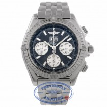 Breitling Crosswind Special Stainless Steel 44MM Chronograph Blue Dial A44355 H9HR06 - Beverly Hills Watch Company Watch Store