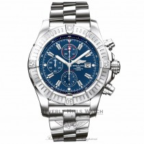 Breitling Super Avenger Chronograph Blue Dial A1337011/C757 E62UNQ - Beverly Hills Watch Company Watch Store