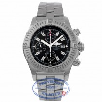 Breitling Super Avenger Chronograph 48MM Stainless Steel Automatic Black Dial A1337011/B907 05WMFD - Beverly Hills Watch Company Watch Store
