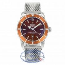 Breitling Superocean Heritage 46mm Bronze Dial A1732033/Q524 E0V4DJ - Beverly Hills Watch