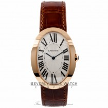 Cartier Baignoire Large 18k Rose Gold W8000002 PUBIZV - Beverly Hills Watch Company Watch Store