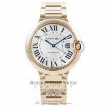 Cartier Ballon Bleu 36MM Medium 18k Yellow Gold W69003Z2 NL4E5W - Beverly Hills Watch Company Watch Store