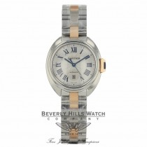 Cartier Cle de Cartier 31mm Automatic Silver Dial Ladies W2CL0004 6X2VJY - Beverly Hills Watch Company