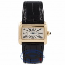 Cartier Tank Divan Small Yellow Gold W6300556 1PM56M - Beverly Hills Watch Company Watch Store