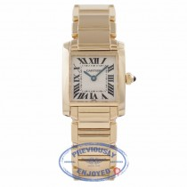 Cartier Tank Francaise 18k Yellow Gold Ladies W50002N2 HWNY7U - Beverly Hills Watch Company Watch Store