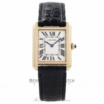 Cartier Tank Solo Small 18k Yellow Gold W5200002 3U6PTG - Beverly Hills Watch Company Watch Store