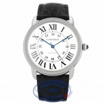Cartier Ronde Solo XL Stainless Steel Automatic W6701010 1ZFR1R - Beverly Hills Watch Company