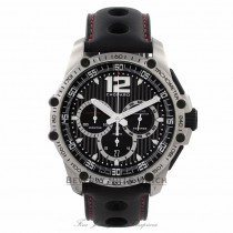 Chopard Mille Miglia Classic Racing Chronograph Automatic Black Dial 16-8523-3001 W4CC0E - Beverly Hills Watch Store