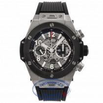 Hublot Big Bang Unico 45MM Titanium Ceramic Skeleton Dial 411.NM.1170.RX 90XUR9 - Beverly Hills Watch Company Watch Store