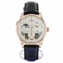 Jaeger-LeCoultre 42mm Rose Gold Duomètre Quantième Lunaire 6042422 HPHN4X - Beverly Hills Watch