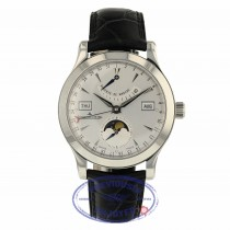 Jaeger LeCoultre 40.5mm Master Calendar Stainless Steel 147.8.41.S 8R0LHM - Beverly Hills Watch