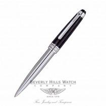 Montblanc Meisterstuck Solitaire Ceramics Black Prisma Ballpoint Pen 103109 CLYEF7 - Beverly Hills Watch Store