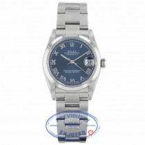 Rolex Datejust 31mm Stainless Steel Blue Dial 68240 8W0082 - Beverly Hills Watch Company