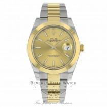 Rolex Datejust II 41mm Domed Bezel Yellow Gold 126303 39X66C - Beverly Hills Watch