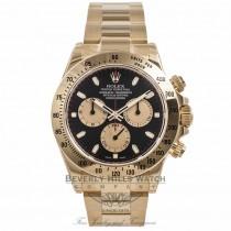 Rolex Daytona Chronograph 18K Yellow Gold 116528 RK08NQ - Beverly Hills Watch Company