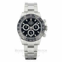 Rolex Daytona Ceramic and Stainless Steel Black Dial 116500LN C79221 - Beverly Hills Watch