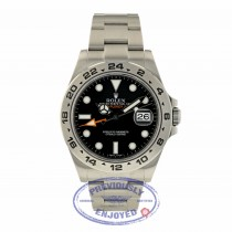 Rolex Explorer II 42MM Stainless Steel Black Dial 216570 E6D3D7