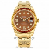 Rolex Pearlmaster Special Edition 39mm 86348SAJOR 181YRE - Beverly Hills Watch