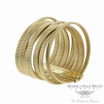 Vermin Twirl Bunched Bangle Bracelet 18k Yellow Gold Naira & C VQDRWL - Beverly Hills Watch
