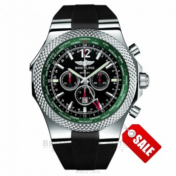 Breitling Bentley GMT Racing Green Limited Edition A47362S4/B919 JHGYHC - Beverly Hills Watch Company Watch Store