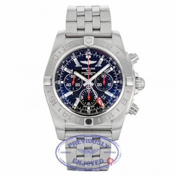 Breitling 47mm Chronomat GMT Limited Edition Stainless Steel AB041210/BB48 E5P5CF - Beverly Hills Watch Company