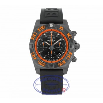 Breitling Raven Black Steel Automatic Stainless Steel 44mm Black Dial MB0111C2/BD07/153S 47QZFY - Beverly Hills Watch