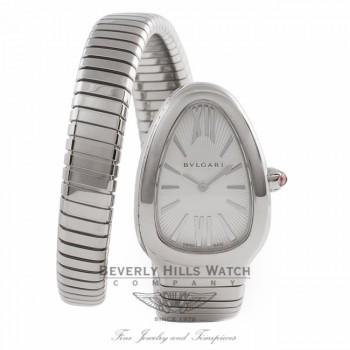 Bvlgari Serpenti Single Twirl 35MM Stainless Steel SP35C6SS.1T U0CA76 - Beverly Hills Watch Company