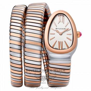 Bulgari Serpenti Tubogas 35mm Ladies SP35C6SPG.2T - Beverly Hills Watch