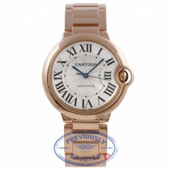 Cartier Ballon Bleu Medium 36mm Rose Gold W69004Z2 DPZR0F - Beverly Hills Watch Company Watch Store