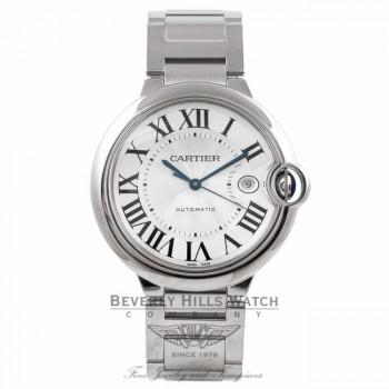 Cartier Ballon Bleu Large Stainless 42mm Steel W69012Z4 WZ0917 - Beverly Hills Watch Company Watch Store