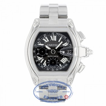 Cartier Roadster Chronograph Stainless Steel W62020X6 - Beverly Hills Watch