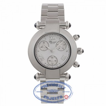 Chopard Imperiale Ladies 32MM Stainless Steel White Dial 388389-3002 JD5FPD - Beverly Hills Watch Company Watch Store