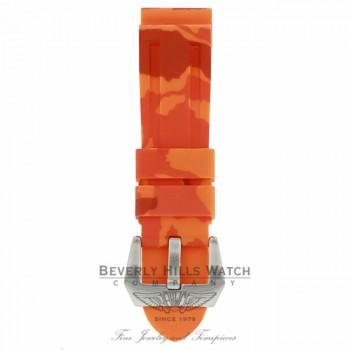 Horus Orange Camouflage Rubber Panerai Luminor 44mm Straps D53N2D D53N2D - Beverly Hills Watch Company