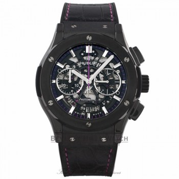 Hublot Classic Fusion Chronograph Womanity for Men Limited Edition 45MM 525.CM.0179.LR.WTY14 J8HUF0 - Beverly Hills Watch Company Watch Store