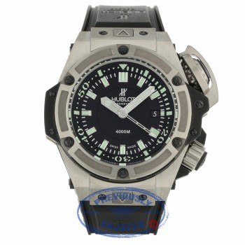 Hublot Big Bang King Power Stainless Steel Diver Oceanographic 4000 48mm 731.NX.1190.RX UX00VF - Beverly Hills Watch