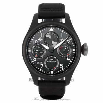 IWC Big Pilot Watch Ceramic 48mm Perpetual Calendar Watch IW50292 RM5CNL - Beverly Hills Watch Company