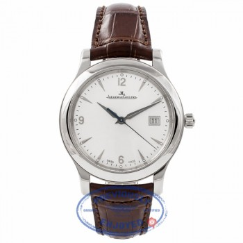Jaeger Le Coultre Master Control Harmonisation 40MM Stainless Steel Q1398420 LJ3FBG - Beverly Hills Watch Company Watch Store
