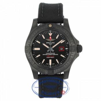 Breitling Avenger 44mm Blackbird Black Dial Titanium V1731110/BD74 - Beverly Hills Watch