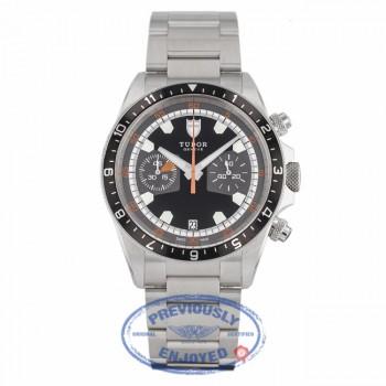 Tudor Heritage Chronograph Black / Gray 70330N - Beverly Hills Watch Company