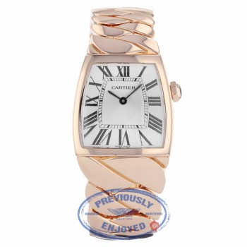 Cartier La Dona Rose Gold Silver Dial W640040I - Beverly Hills Watch