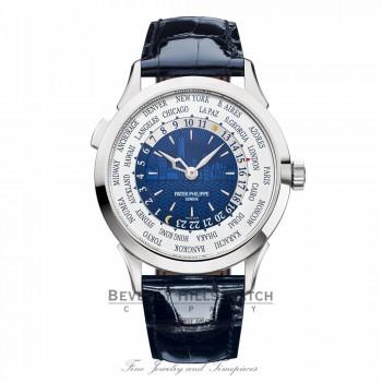 Patek Philippe World Time New York Limited Edition 18k White Gold 5230G010 QU4VJD - Beverly Hills Watch