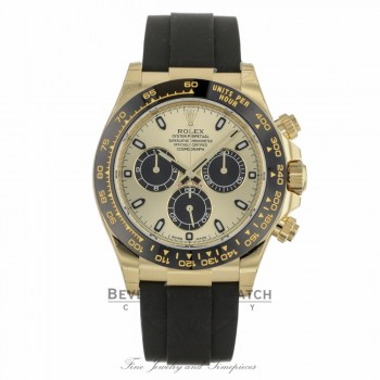 Rolex Daytona Oyster Perpetual Champagne Dial Automatic 116518LN VLRF7Q - Berverly Hills Watch