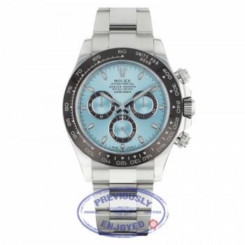 Rolex Daytona 40MM Platinum Anniversary Edition Chestnut Brown Monobloc Cerachrom Bezel 116506 111111 - Beverly Hills Watch Company
