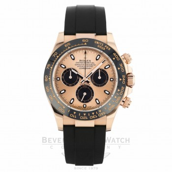 Rolex Cosmograph Daytona Everose Ceramic Bezel Rose Dial 116515LN ZKJ7A2 - Beverly Hills Watch