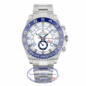 Rolex Yacht-Master II 44MM Stainless Steel Blue Cerachrom 116680 RJXC77 - Beverly Hills Watch Company