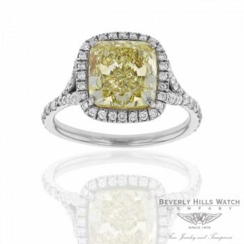 Designs by Naira Platinum Diamond Custom Handcrafted Ring VEILB1 VEILB1 - Beverly Hills Jewelry Company