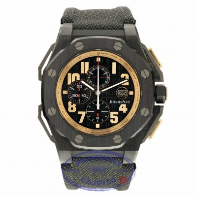 Audemars Piguet Limited Edition Arnold Schwarzenegger The Legacy Royal Oak Offshore 26378IO.OO.A001KE.01 LCCDJ6 - Beverly Hills Watch Company