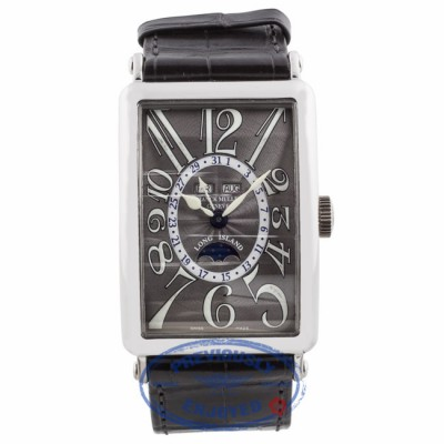 Franck Muller Long Island White Gold Master Calendar Lunar Watch 1200MCL - WEPYDT - Beverly Hills Watch Company