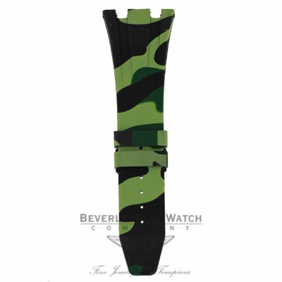 Horus Green Camouflage Rubber Audemars Piguet 42mm Strap F0UNWY F0UNWY - Beverly Hills Watch Company